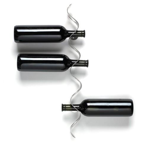Black and Blum Flow Wine Rack