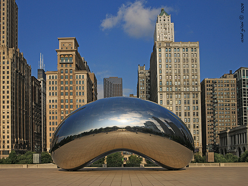 millenium park chicago cloud gate