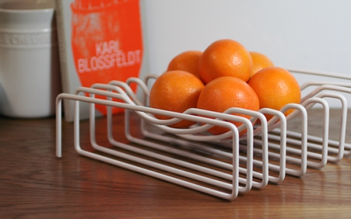 block wire fruit bowl