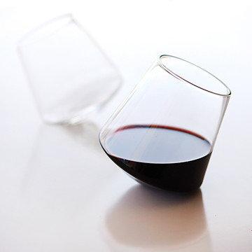 sempli cupa wine hand blown glass