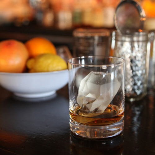 Giant 3D Skull Ice Cube Whiskey by Gama-go