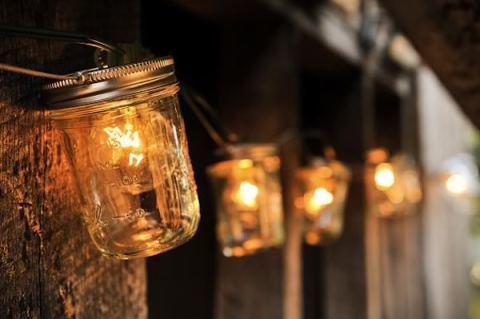 summer lamps mason jar lanterns