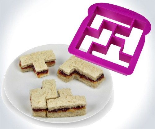 Bites and Pieces Tetris Sandwich Crust Cutter