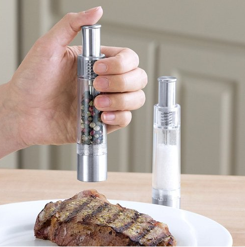 Peppermate One Handed Salt and Pepper Mill