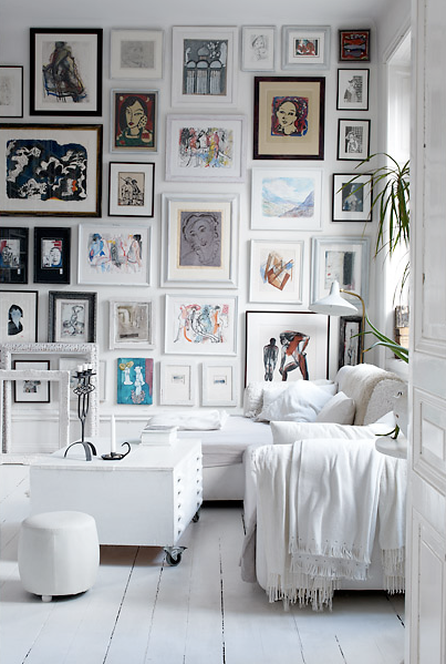 DIY gallery walls