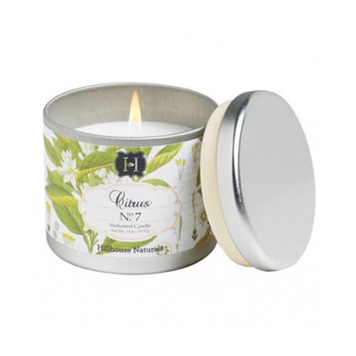 Citrus No.7 Tin Candle