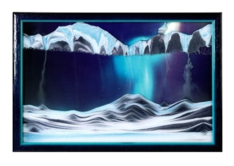 Aurora Borealis Sand Picture Movie Small