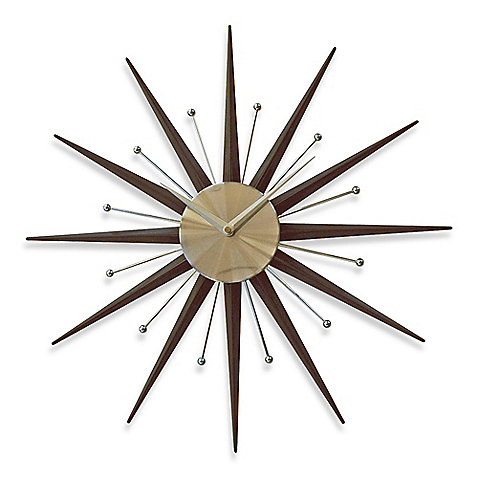 Cupecoy Sunburst Wall Clock