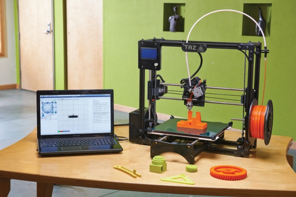 lulzbot 3D printing