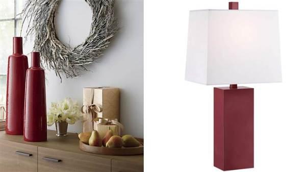 Marsala Lamps
