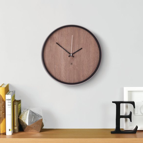 Umbra Madera Wall Clock