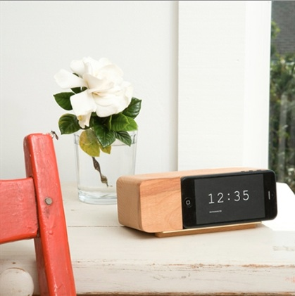 Areaware iPhone Alarm Dock