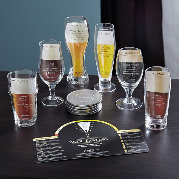 Beer Tasting Glass Set