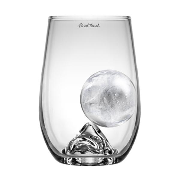 Highball Glass and Ball Ice Set