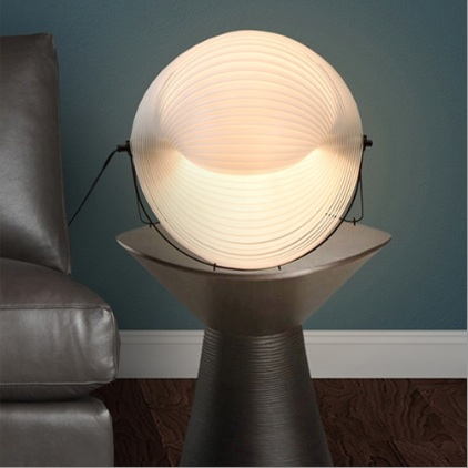 Lumisource shell table lamp