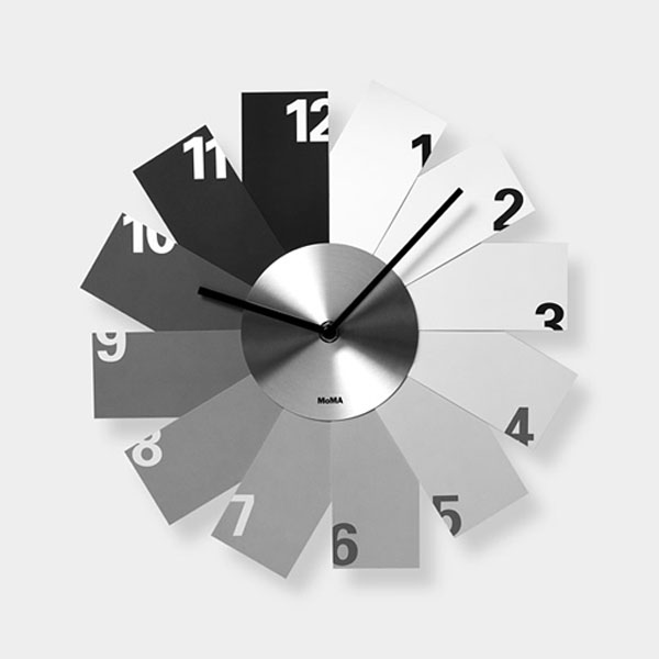 Monochrome Clock MoMA